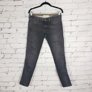 Stella McCartney Faded Black Skinny Jeans